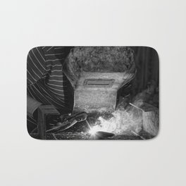 Welder works Bath Mat