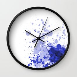 Passion Blue Wall Clock