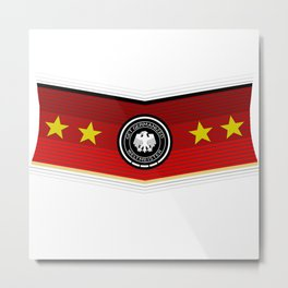 Germany - World Champion Metal Print