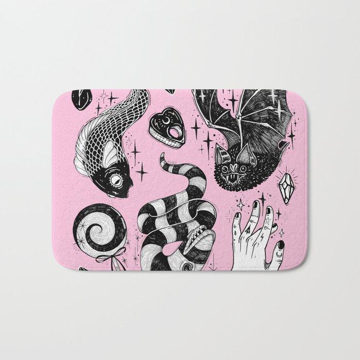 Pink Magic Bath Mat