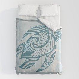 Hawaiian Tribal Turtle Comforters