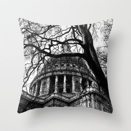 Into the trees 05 - St. Paul's Cathedral Throw Pillow