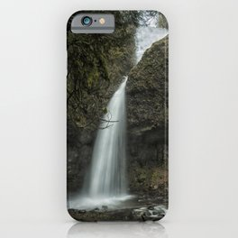 Upper Latourell Falls, No. 1 iPhone Case