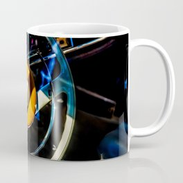 Steering Wheel Of A Luxury Car Color Coffee Mug