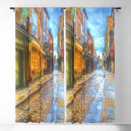 Shambles York Art Blackout Curtain