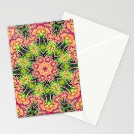 BBQSHOES: Kaleioscopic Fractal Mandala 1543K2 Stationery Cards