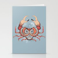 cancer Stationery Cards featuring Cancer by Vibeke Koehler