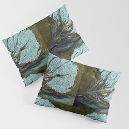 Four Square Cotton Pillow Sham