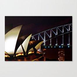 Opera Bridge Canvas Print