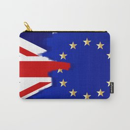 Union Jack and EU Blend Carry-All Pouch