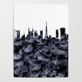Bristol Skyline Great Britain Poster