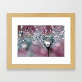 Rasberry Sparkles Framed Art Print