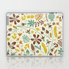 Autumn Blooms Laptop & iPad Skin