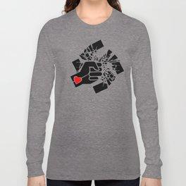 Obliterate Hate w/ Love (women) Long Sleeve T-shirt