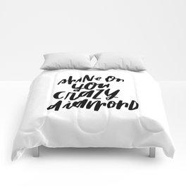 Shine On You Crazy Diamond Comforters