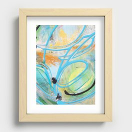 Cause for the creative Recessed Framed Print