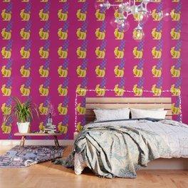 Banane mit Punkten Wallpaper