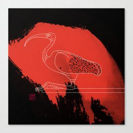 Scarlet Ibis Canvas Print
