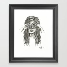 Beauty is within the eye of the beholder - By Ashley Rose Standish Framed Art Print