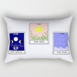 Trio of Tarot Rectangular Pillow