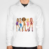 spice girls Hoodies featuring Spice Girls by JamesLBarryArt