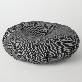Simple hand drawn lines Floor Pillow