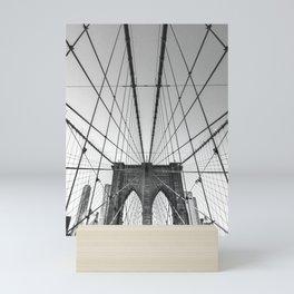 Lines of Brooklyn - New York Mini Art Print