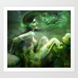 Aquatic Creature Art Print