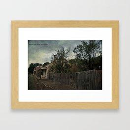Charming Cottage Framed Art Print