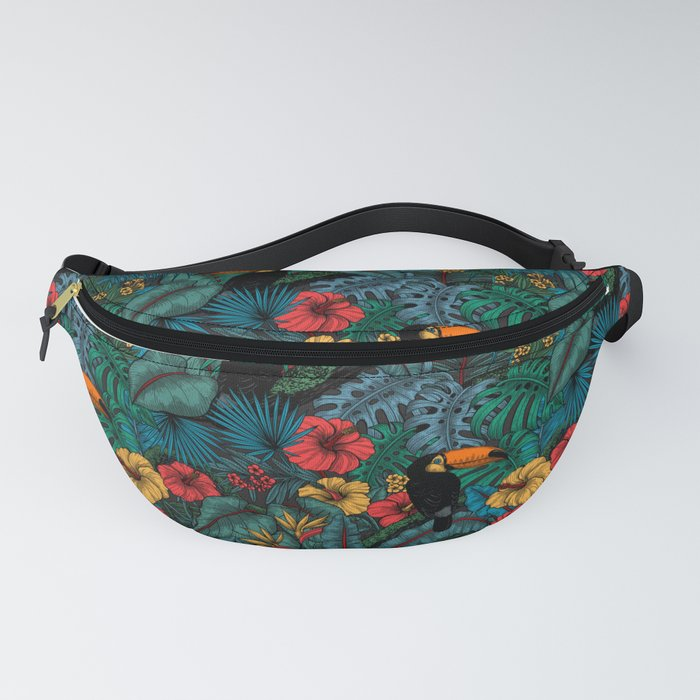 Toucan garden Fanny Pack