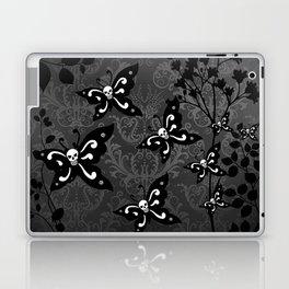 Skullerflies in the garden - dark scale Laptop & iPad Skin