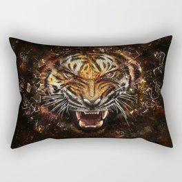 Tiger Roar Rectangular Pillow