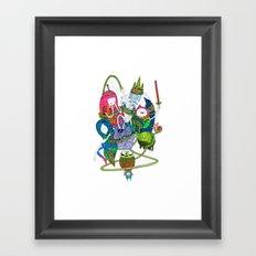 Adventure Time fan art celebration! Framed Art Print