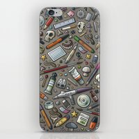 lab iPhone & iPod Skins featuring Graphic lab by Philippe Mignotte
