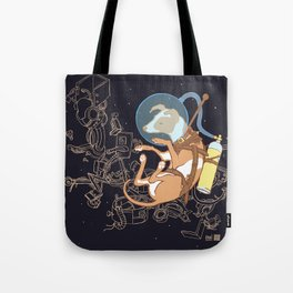 Muttnik Tote Bag