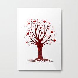 Heart Tree (2) Metal Print