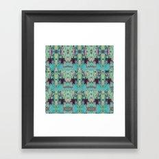 Sea Turtle Bliss Framed Art Print