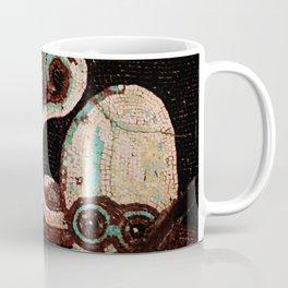 Old Time Octopus Mosaic Coffee Mug