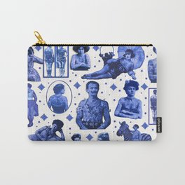 My Delft-Blue Tattoo Carry-All Pouch