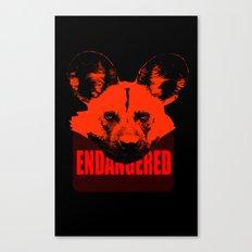 Endangered African Wild Dog Canvas Print