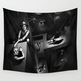 Impossible Chase Wall Tapestry