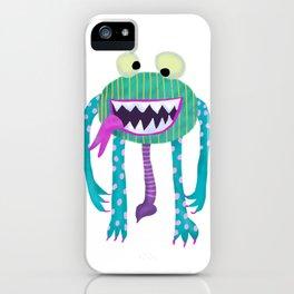 Monster Hugo iPhone Case