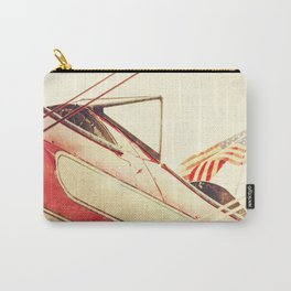 Salute // Antique Airplane Carry-All Pouch