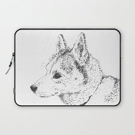 Husky, Not Big-Boned Laptop Sleeve