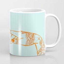 Henna hands Coffee Mug