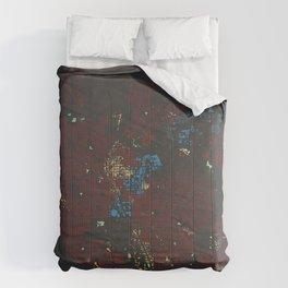 Ann Arbor Building Footprint Comforters