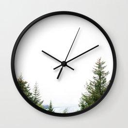 Sitka Mendenhall in Alaska Wall Clock