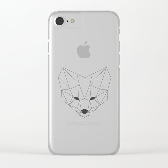 Fox Clear iPhone Case