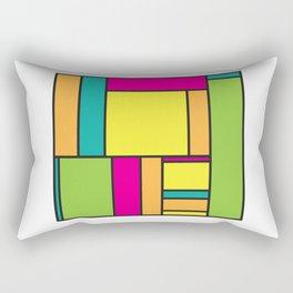 Rectangled Rectangular Pillow