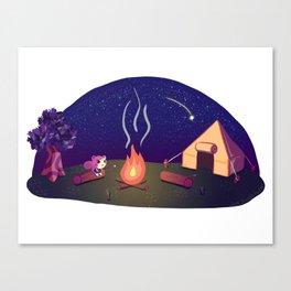 Marshal's Camp Canvas Print